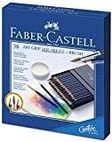 FABER-CASTELL Crayons couleur ART GRIP AQUARELLE box Atelier 36