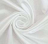 """Faux Solide Satin Couture De Tissu En Soie 59"""" Pouces De Large Couture Offre Au Mètre"""