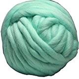 FloraKnit Pelote de grosse laine 100% laine Mérinos pour tricot, crochet, feutrage, création de tapis et couvertures, loisirs créatifs