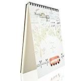 Foonii A4 Carnet de croquis simple et esthétique
