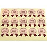 funcoo 240Adorable Enveloppe étiquette d'autocollant décoratif scrapbooking Craft autocollant pour maison, bureau, mariage, Hand Made