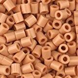 Fuse Beads, 5x5 mm, light brown, medium, 1100 pc