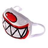 Generic Clown Masque Anti-poussière Respirant Masque à Bouche Visage Coton Confortable Soins Santé Lavabl - #2