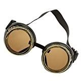 Generic Vintage Lunettes de Soudage Steampunk Style Gothique Masque pour Déguisement Photographie Cosplay - Bronze
