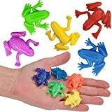 German-Trendseller ® 24 x grenouilles?extrem extensible? petit cadeau? l'anniversaire d'enfant