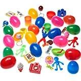 German Trendseller® - 24 x œufs Surprise Avec jouet à l'intérieur? Party Loot ? enfants ? mélange coloré ? Party