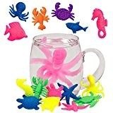 German Trendseller® - 4 x animaux marins grandissant?les animaux grandissent dans l'eau? l'essai?créatures marins magiques ?mélange de animaux? idée cadeau?l'anniversaire ...