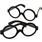 German Trendseller® - 6 x lunettes Harry pour enfants?petit cadeau?l'anniversaire d'enant? déguisement? accessoire de carnaval?pour le petit magicien