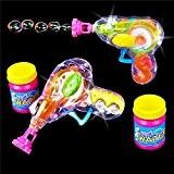 German Trendseller® - magique pistolet à bulles de savon?bubble gun? Light up ?lumineuse? petit cadeau?l'anniversaire d'enfant