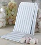 Ginger Ray bleu et blanc à rayures bonbon sucré Sacs - dentelle vintage