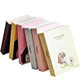 Girls School de Kasit Enfants Notepad Cadeau 160 Pages Mini mignon Diary Pocket Planner Notebook (couleur aléatoire)