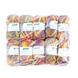 Gründl 861-205Cotton Quick Print laine, coton, Carnaval, 35x 24x 7cm