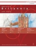 Hahnemühle - Bloc collé 4 côtés - Britannia - 17x24 - 300g/m² - 12 feuilles - grain fin