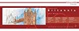 Hahnemühle - Bloc papier pour aquarelle - Panoramique - Britannia - 20x50cm - 300g/m² - 12 feuilles