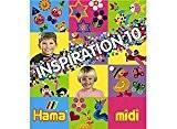 Hama - 399-10 - Loisirs Créatifs - Livre Inspiration n°10 - Perles à Repasser Midi - 64 Pages