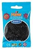 Hama - 501 - 18 - sachet de 2000 perles mini - (petites perles Ø2,5 mm) - Noir