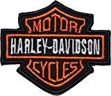 HARLEY DAVIDSON Écusson brodé Badge Patch 6,3cm coudre ou thermocollant