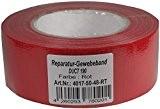Haute tape 50 mm x 50 m rouge réparation pour professionnel ultra solide-tape ruban adhésif de ruban adhésif extra fort ...