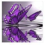 Hjuns® 20 modèles - DIY 5D Peinture De Diamant Point de croix Broderie Diamant Rond Painting Kits Salon Chambre Décoration