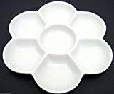 Hobby Art & Crafts Palette de peinture en porcelaine Marguerite 7compartiments