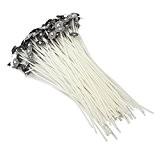 hysagtek 10015cm/15,2cm de haute qualité avec mèches cirées M pour la fabrication de bougies