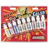 Jacquard aérographe métalliques excitateur Pack-8 couleurs