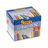 Jovi 152692 - Craies CLASSCOLOR, couleurs assorties - boîte de 100 unités