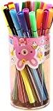 JUNGEN Pinceaux Stylo-bille Différentes Couleurs Crayons Pastel Stylos Bricolage pour L'écriture de Dessin 12