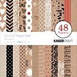 Kaiser Craft Mix et Match papier Pad 30,5x 30,5cm