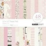Kaisercraft Bloc de papier 30,5x 30,5cm 48kg-peekaboo fille