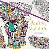 Kaisercraft CL514 Indian Summer Livre de coloriage Papier Multicolore 25 x 25 x 0,6 cm