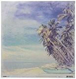 Kaisercraft Coastal Escape Double face papier cartonné 30x 12-inch-palms 10feuilles par lot, d'autres, multicolore