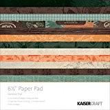 "Kaisercraft Paper Pad 6.5""X6.5""-Outdoor Trail"