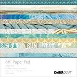 Kaisercraft Papier Pad 16,5cm x 16,5cm 40kg-sandy orteils