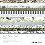 Kaisercraft Papier Pad 16,5cm x 16,5cm Provincial 40/Pkg