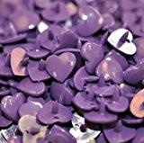 Kam Jeu Coeur-B35 20-Violet - 100 Sets
