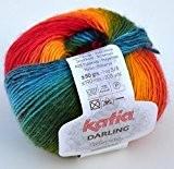 Katia -Darling Wool Rich 4 PLY - 201 by Katia Darling