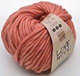 Katia love wool 111 ambre 100 g