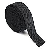 KING DO WAY 4 Mètres 25mm Rouleau De Sangle Ruban Bande En Nylon Accessoire Couture Artisanat DIY Nylon Webbing Tape-Noir