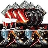 Kit Anniversaire Star Wars VII 7 pour 8 enfants Assiettes Gobelets Serviettes Nappe Fête