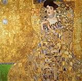 """Kit canevas au demi point de croix """"Adele Klimt"""" 55x55 Cod.650"""