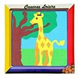 Kit Canevas Enfant gros trous Girafe - Ref 212