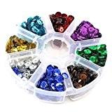 Kit création bijoux Accessoire bijoux en Plastique (1 boite de 2000 pièces de couleur Multicolore)