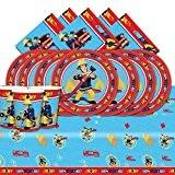 Kit de fête Sam le pompier pour 16 personnes