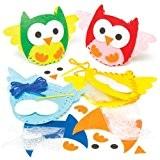Kits de couture de hiboux qui permettront aux enfants de fabriquer, rembourrer, décorer et exposer leurs créations d'automne avant de ...