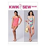 Kwik Sew Patterns k4182osz Femme Maillot de bain patron de couture, soie, multicolore, XS-XL