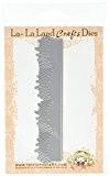 La-La Land Crafts-13,3cm x 3,2cm herbe frontière Die