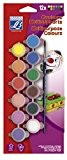 Lefranc & Bourgeois - Assortiment de 12 Piluliers de Peinture Acrylique de 5 ml