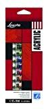 Lefranc & Bourgeois Louvre Pack de 12 Tubes de Peintures acryliques 10 ml