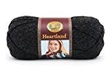 Lion Brand Yarn 142 g en acrylique Heartland Pelote de fil à tricoter Black Canyon